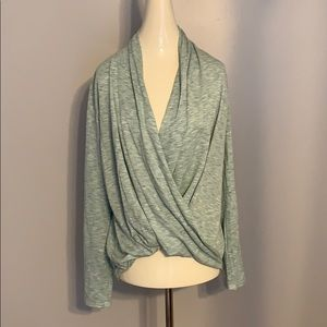 NWOT Lightweight Draped Sweater